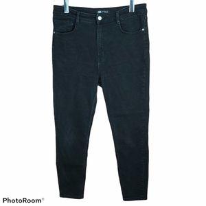📣2/36$📣 ZARA super high rise stretch jeans sz 12
